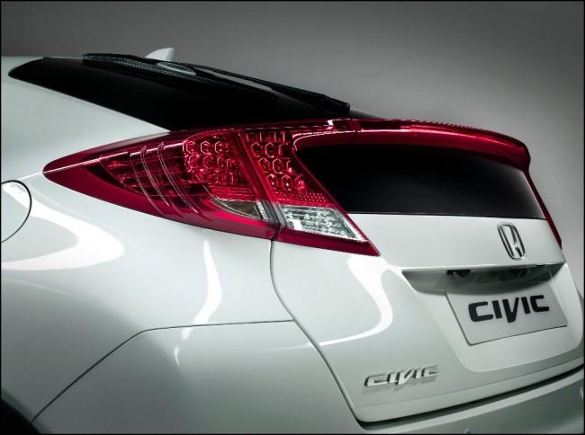Honda Civic 2012 al descubierto