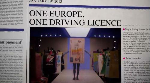 Un permiso de conducir único para toda la UE