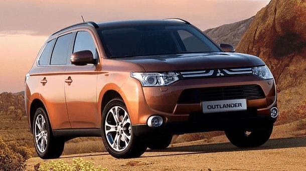 Nuevo Mitsubishi Outlander Plug-in Hybrid EV