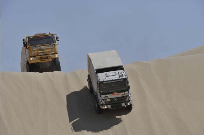Paris Dakar: Pisco-Nazca 3ª Etapa