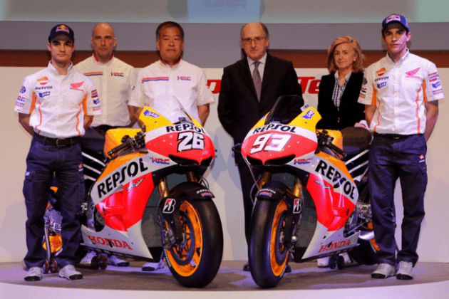 Pedrosa y Márquez desvelaron el jueves su nueva MotoGP
