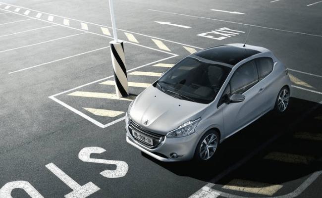 Máxima seguridad en el Peugeot 208