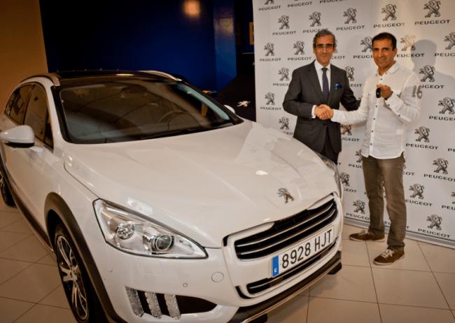 Marc Gené escoge el Peugeot 508 RXH para su día a día