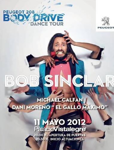 """Expresarse libremente en el """"Peugeot 208 Body Drive Dance Tour"""" de Madrid"""""""