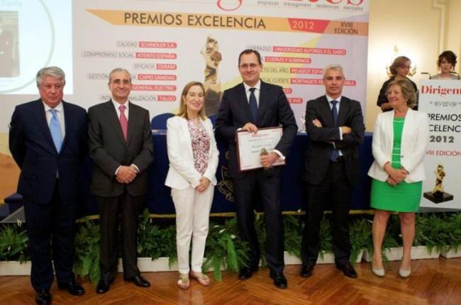 Peugeot gana el Premio Excelencia al mejor proyecto