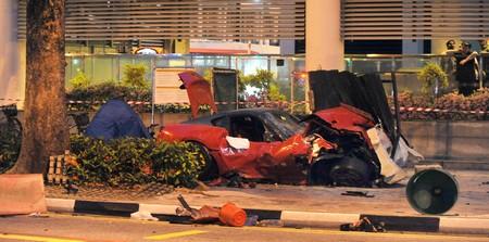 Tres muertes a causa del accidente de un Ferrari 599 GTO