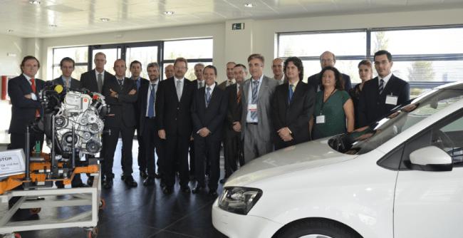 Volkswagen Navarra ha donado a la Universidad Pública de Navarra un Polo GTI