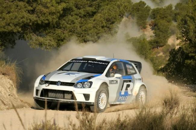 Prueban el Polo R WRC en España