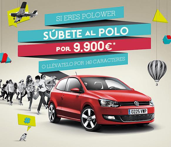 Consigue en Volkswagen Polo por 140 caracteres