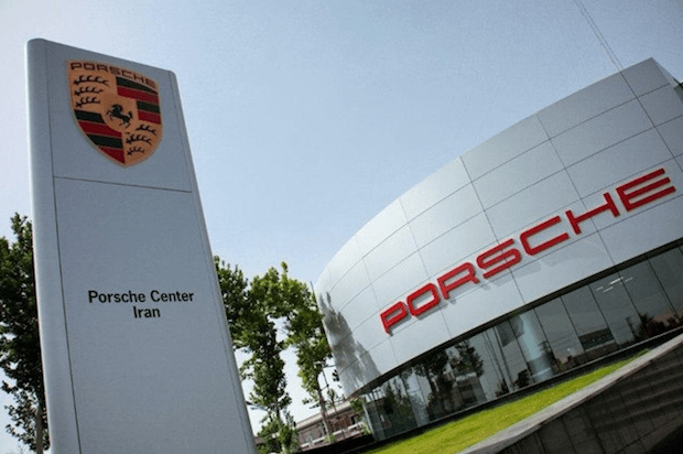 Porsche finaliza su actividad comercial en Irán
