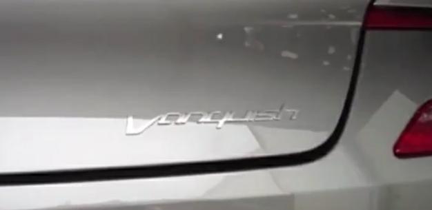 Aston Martin DBS revive la insignia Vanquish