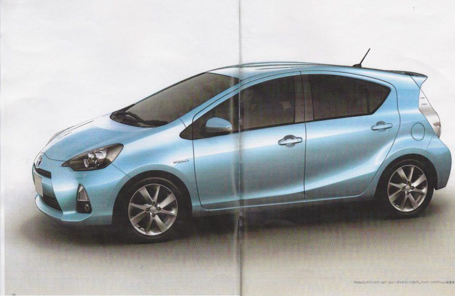 Primeras filtraciones del Toyota Prius C
