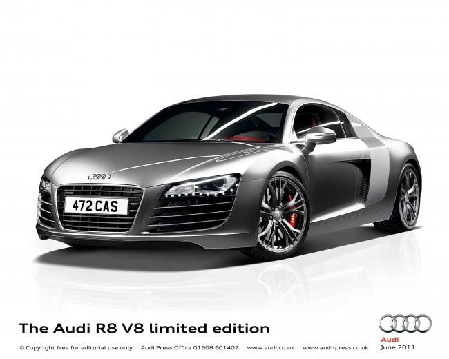 La Limited Edition llenará de equipamiento el R8