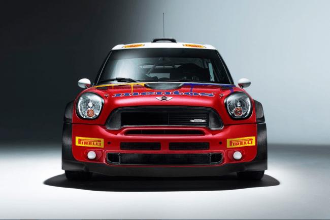 El Mentos MINI en el WRC 2