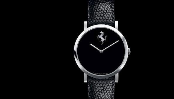 Ferrari se une a Movado para una exclusiva línea de relojes