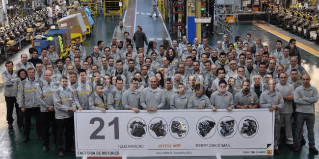 Renault: 21 millones de motores fabricados en España