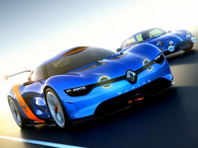 Renault presenta el Concept Car Alpine A110-50