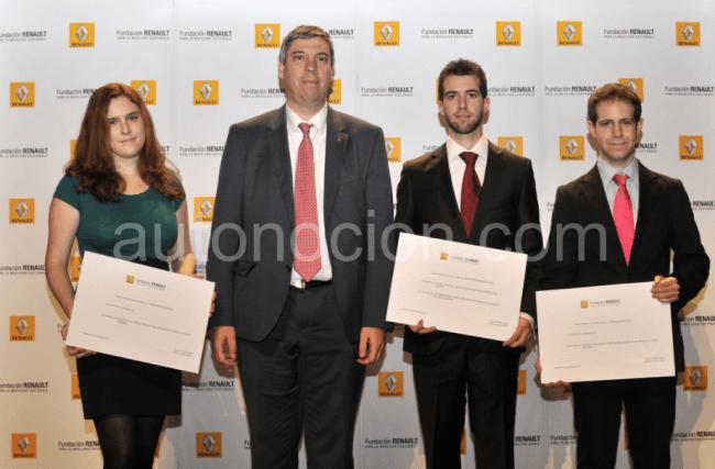 La Fundación Renault entrega los Premios del concurso al Mejor Proyecto de Fin de Carrera sobre Movilidad Sostenible