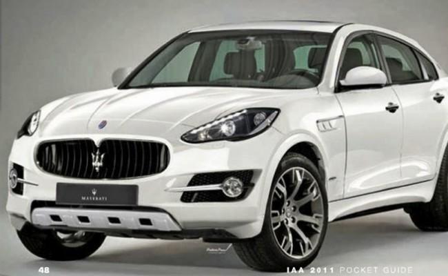 Maserati SUV Concept: El todocamino del tridente