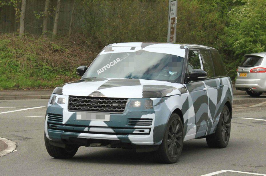 El nuevo Range Rover se deja ver camuflado