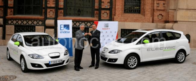 Endesa incorpora el León TwinDrive Ecomotive y el XL Electric Ecomotive a la flota de pruebas