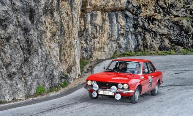 El SEAT 124 Sport en el Ennstal Classic 2012