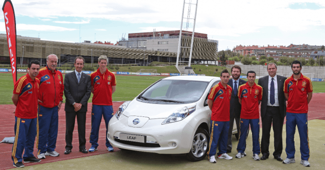 Nissan, nuevo patrocinador y coche oficial de la Selección Española de Fútbol