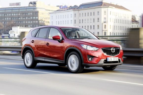 El Sistema de asistencia a la frenada en ciudad de Mazda, alabado por Euro NCAP
