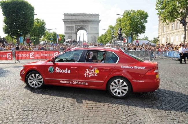 Skoda sigue con el Tour de Francia