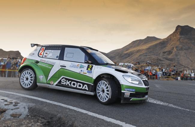 Los Skoda dominan el rally de las Canarias