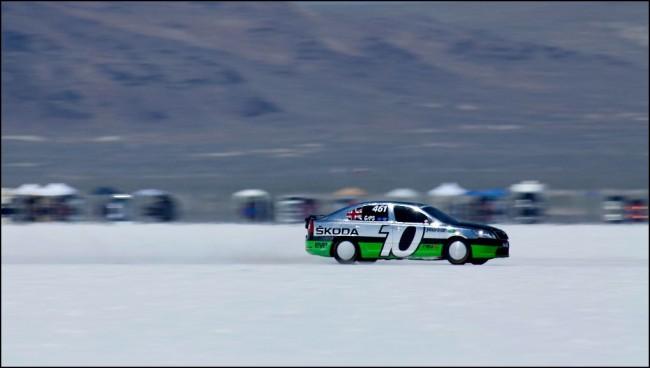 El Octavia vRS ha alcanzado los 336 km/h