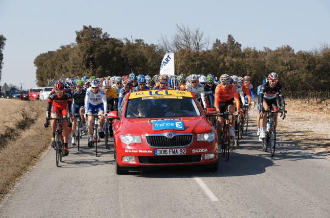 ŠKODA participa un año más en la vuelta ciclista a España