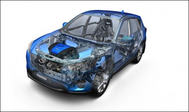 El Mazda CX-5 será el primero en estrenar la tecnología SKYACTIVE