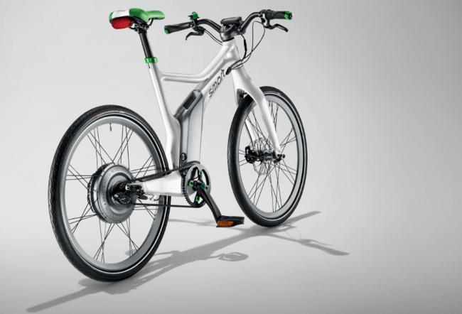 La movilidad urbana eléctrica de la manos de Smart sobre dos ruedas