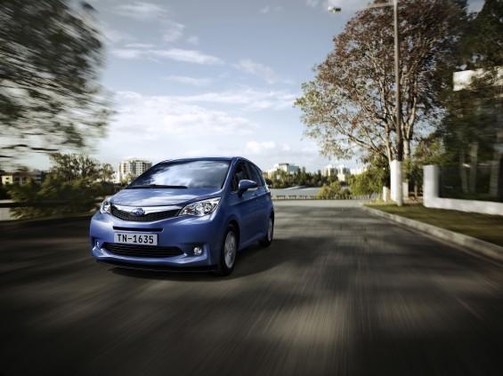 El pequeño de los Subaru se llama Trezia