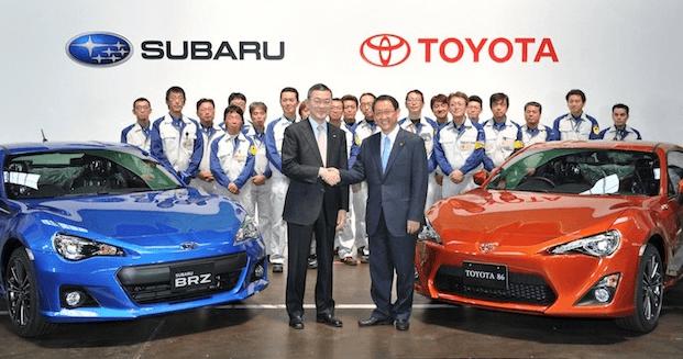 Subaru y Toyota se unen para celebrar la salida de su deportivo