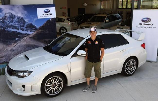 Subaru cede a Marc Márquez un WRX STI