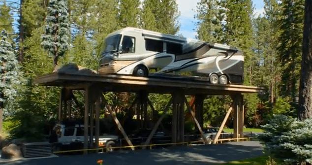 ¡Un garaje que cuesta 6 millones de dólares!