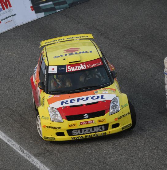 Suzuki revalida el título de marcas en el III Rallye Comunidad de Madrid