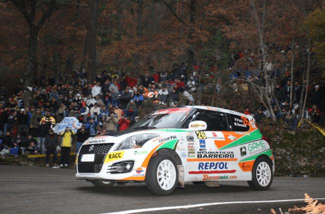 Pablo Pazó vencedor de la Copa Suzuki Swift 2012