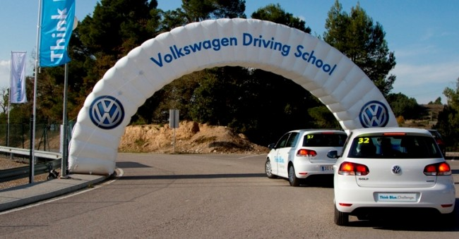 Volkswagen Think Blue Challenge: En busca del conductor más eficiente