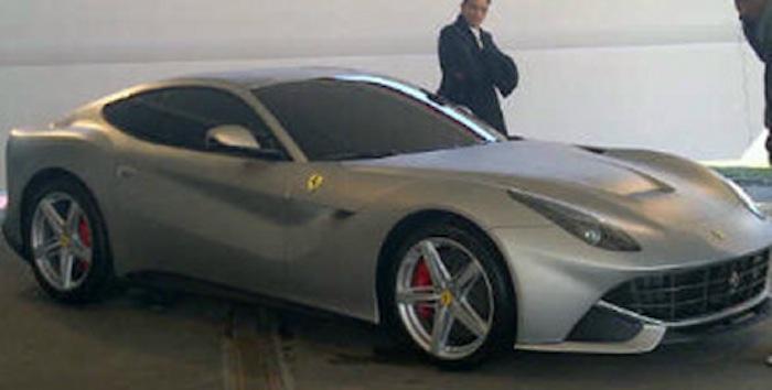 Primera imágen del nuevo Ferrari 620GT