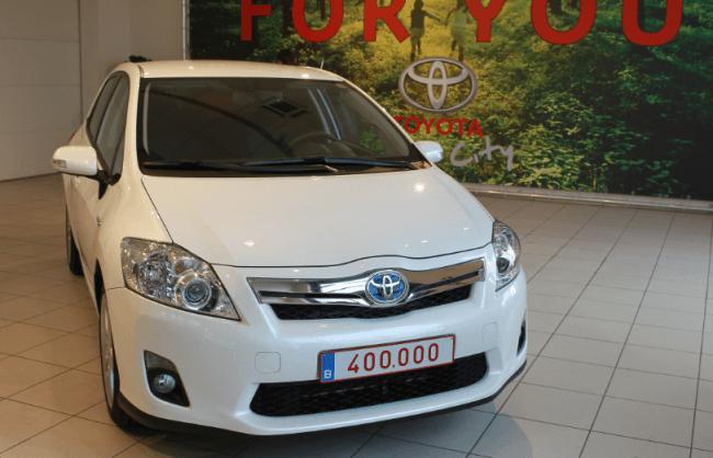 400.000 Toyotas Híbridos se mueven por Europa
