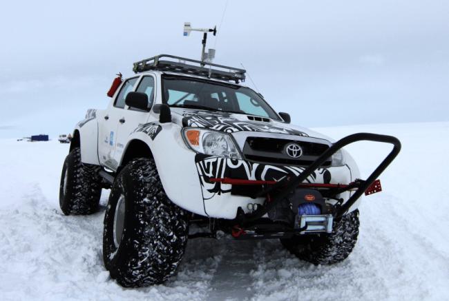 El Toyota Hilux protagoniza el recorrido antártico más largo de la historia
