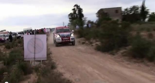 El equipo Toyota Kobe Motor en la edición Baja Almanzora