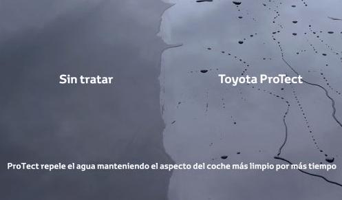 Toyota ProTect: escudo protector de alta tecnología para vehículos nuevos y usados