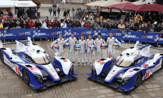 En directo desde Le Mans con el TS030 HYBRID de Toyota Racing