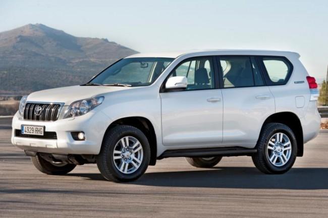 La nueva gama del Toyota Land Cruiser para el 2012