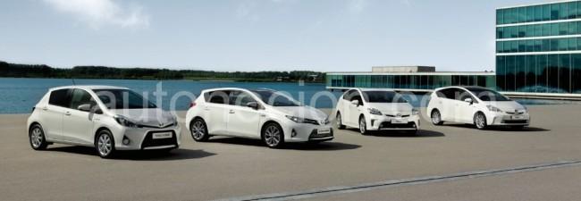 Toyota supera los 500.000 híbridos vendidos en Europa