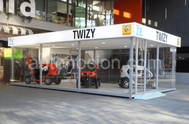 Inaugurado el primer Twizy Store en Barcelona